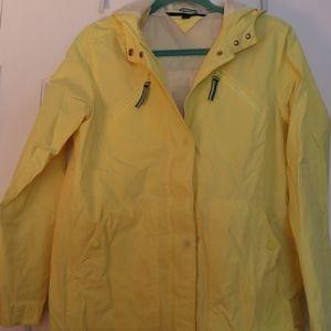 Tommy Hilfiger Yellow Rain Jacket M